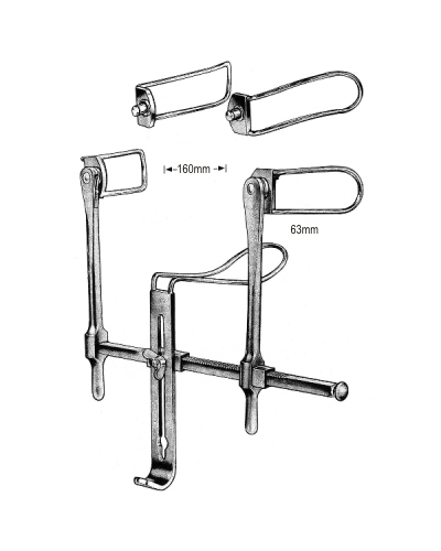 Gosset Bladder Retractor 160mm